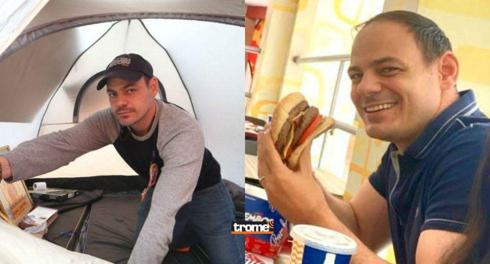 Keiko Fujimori compartió una fotografía de su familia mientras Mark Vito comía la tan ansiada hamburguesa (TROME)