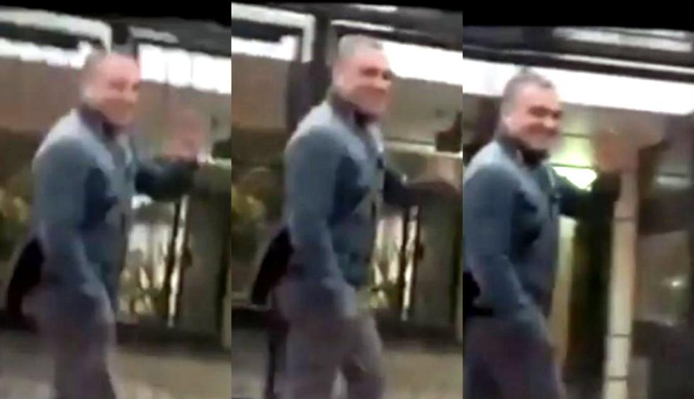 Salvador del Solar se hace viral tras saludar a fans que le agradecieron mientras caminaba en la calle. Foto: Captura de Facebook