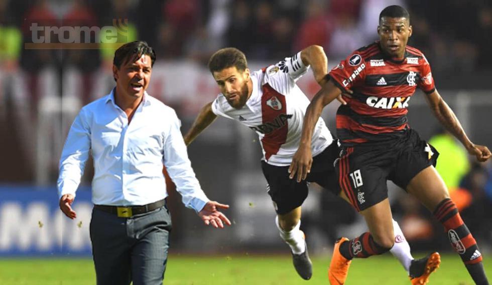Marcelo Gallardo y su historial con Flamengo de cara a la final de la Copa Libertadores