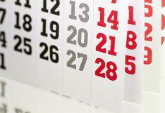¿Cuáles son los feriados largos de 2020 en Perú?