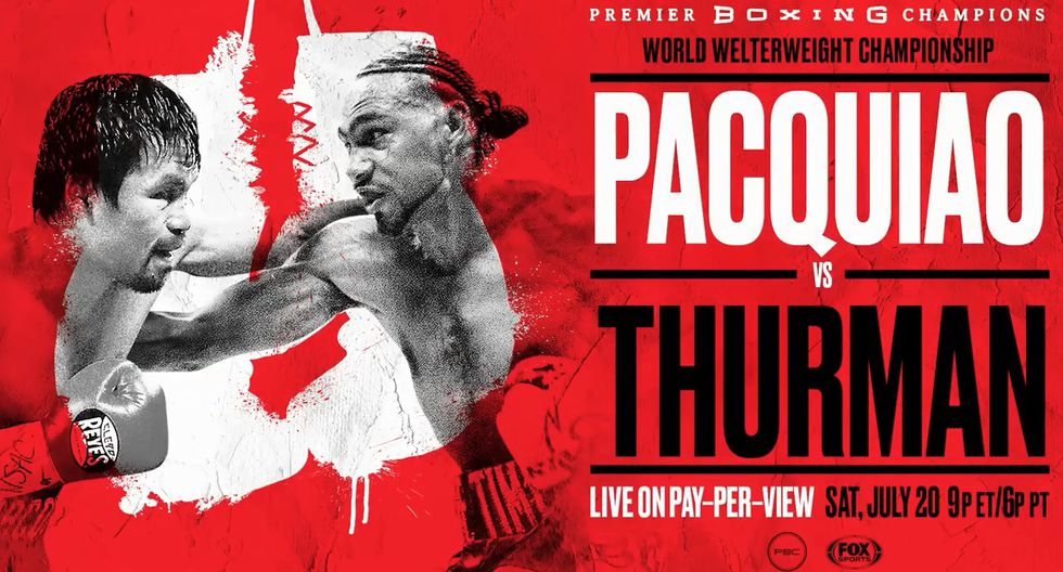 Manny Pacquiao vs. Keith Thurman ( Premiere Boxing Championship)