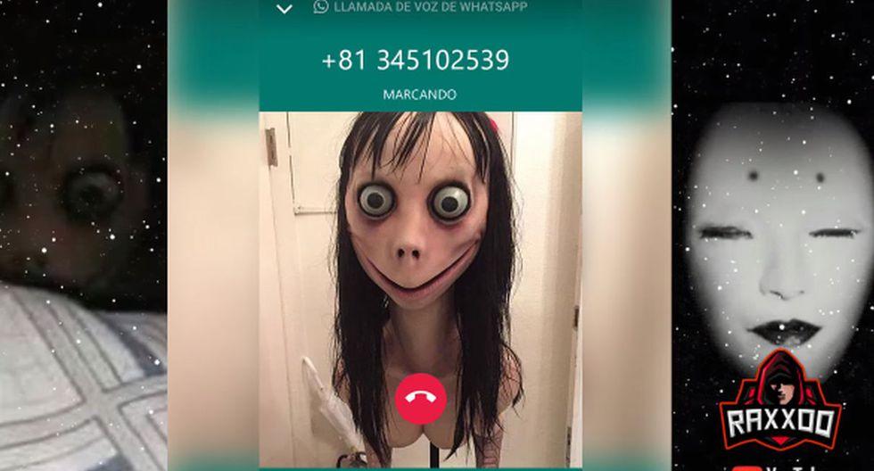 Peruano llama a Momo para desmentir el mito pero el monstruo le contesta y le dice esto. Video: YouTube RAXXOO