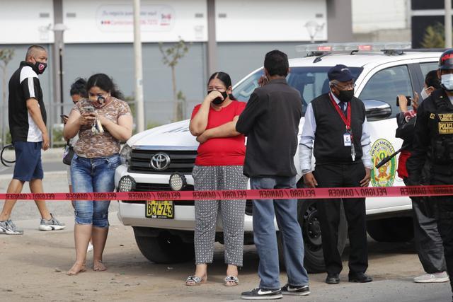 Homicidio ocurrió en la avenida Santa Rosa, a pocos metros del cruce con Argentina, en el Callao. | Foto: Joseph Ángeles
