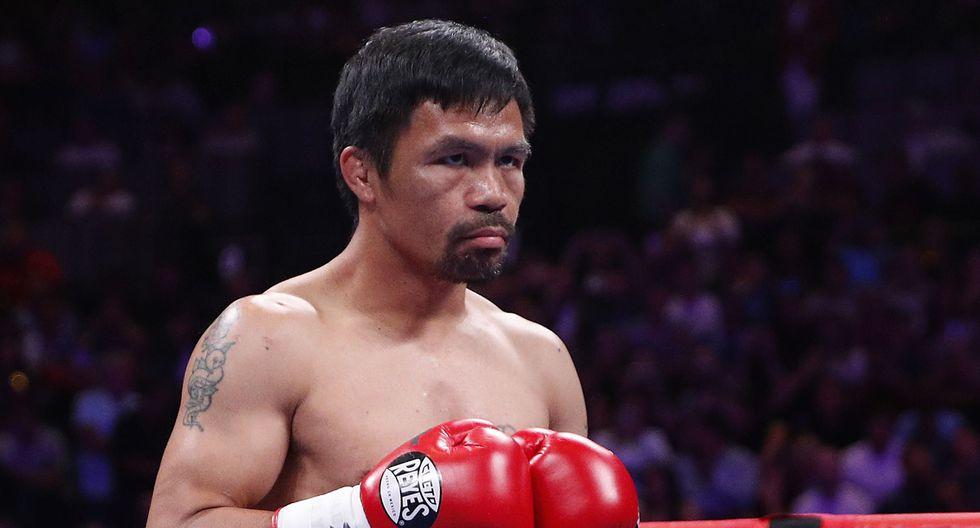 Manny Pacquiao se lució en gran forma contra Keith Thurman y lo derrotó por decisión de los jueces. (Agencias)