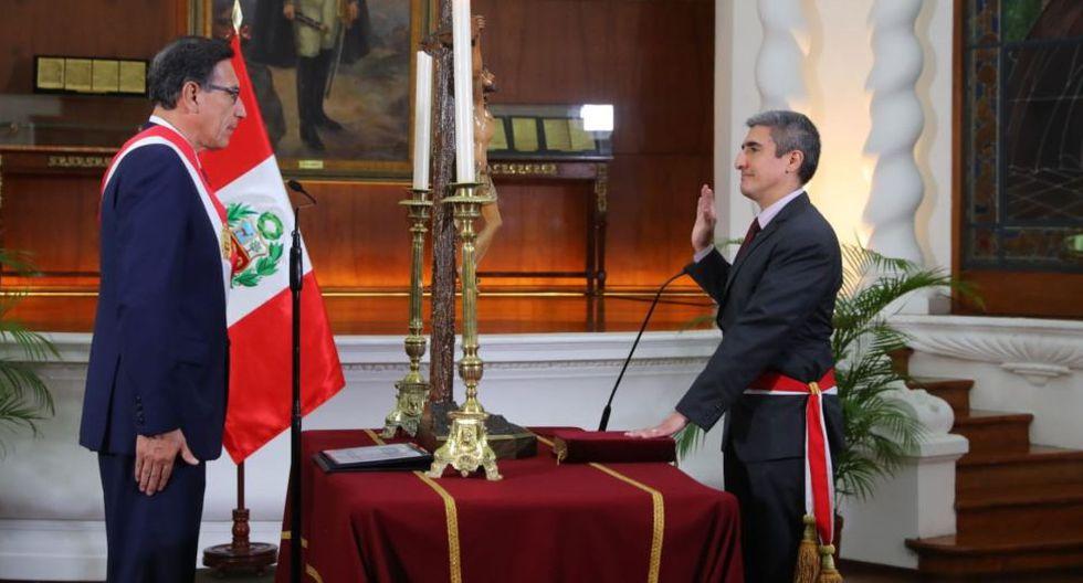 Alejandro Neyra juramenta como nuevo ministro de Cultura | Foto: Presidencia