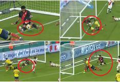 Gol de Colombia: ¿Pasó la línea? ¿Fue mano? El agónico y polémico que provocó derrota de Perú