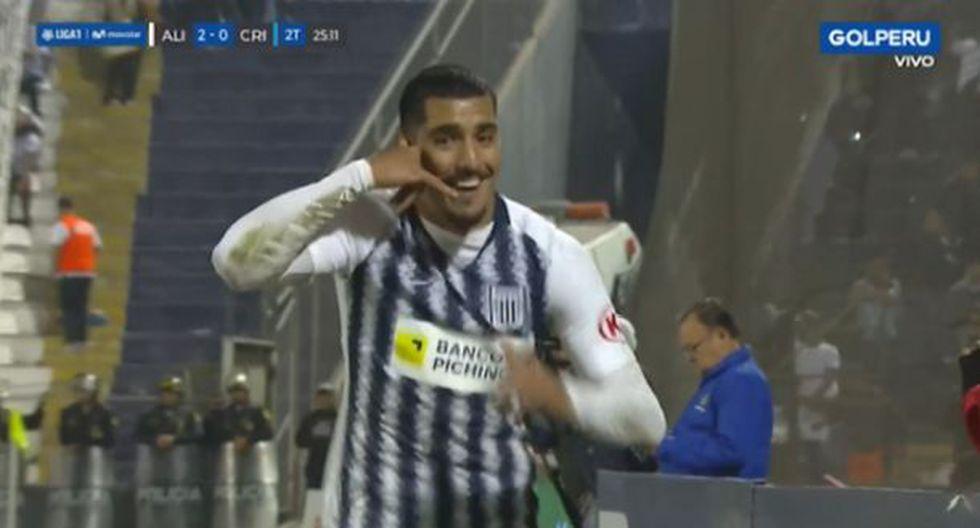 Balboa puso el segundo para Alianza Lima. (Captura: Gol Tv)