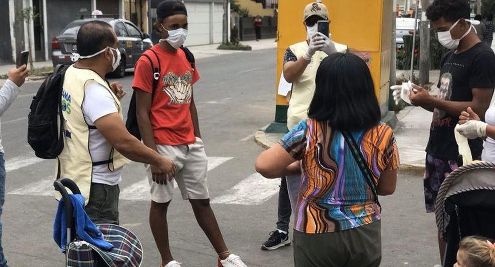 Coronavirus Perú: Una familia de 8 venezolanos viven en un camión de mudanza