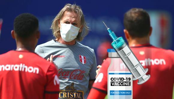 Selección peruana recibiría vacuna en la VIDENA (Foto: Andina)