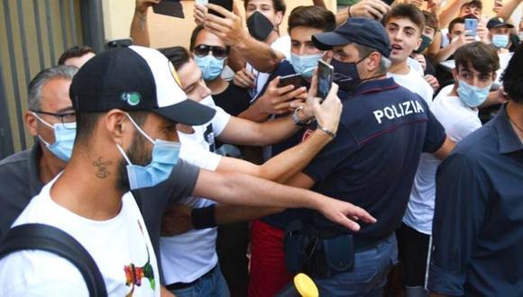 Policía confirma que examen de Luis Suárez fue una farsa (Foto: EFE)