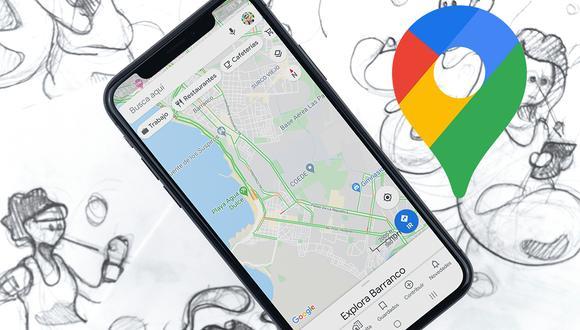 ¿Quieres saber si hay tráfico en plena cuarentena obligatoria de tu ciudad? Usa este truco de Google Maps. (Foto: Google)