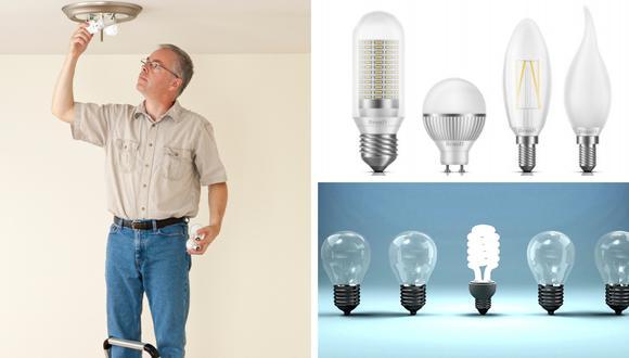 Es importante cambiar a tiempo las bombillas