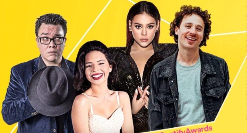 La primera edición de los Spotify Awards tendrá lugar en el Auditorio Nacional de la Ciudad de México. (Foto:@SpotifyMexico)