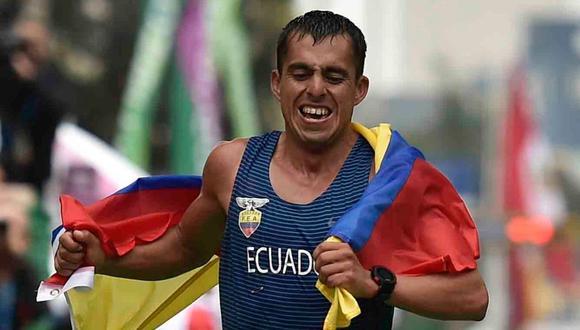 Aquí vemos a Claudio Villanueva en los Juegos Panamericanos de Lima (2019). (Foto: Luis Robayo | AFP)