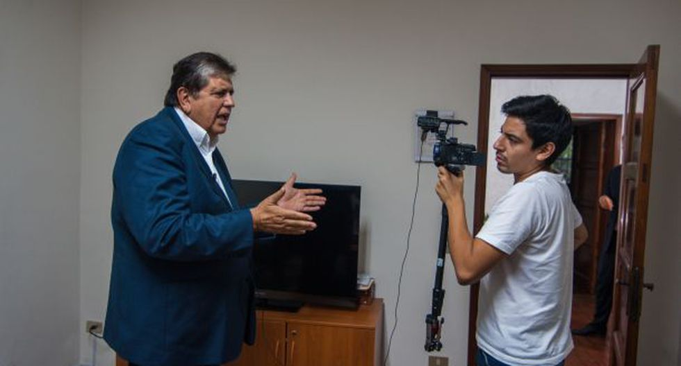 """""""Alan García no está desanimado con las encuestas"""""""