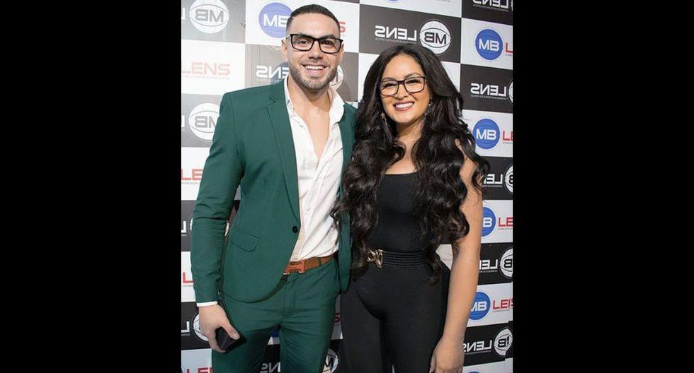 Coto Hernández y Michelle Soifer (Fuente: Instagram)
