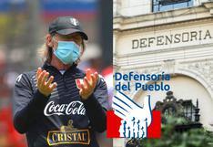 Defensoría del Pueblo en contra de vacunación a selección peruana [VIDEO]