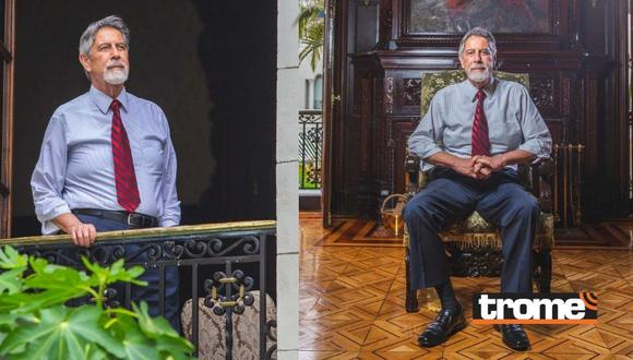 Francisco Sagasti en entrevista con Trome