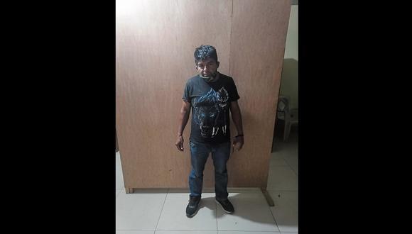 Tumbes: Ramos Chiroque será investigado por el presunto delito de secuestro y violación sexual. (Foto. PNP)