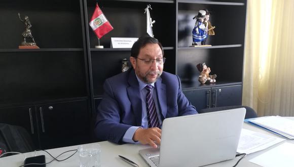 Apurímac: gobernador regional dio positivo al COVID-19 y cumple cuarentena obligatoria (Foto: Gore Apurímac)