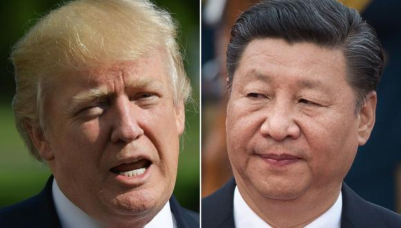 El presidente de Estados Unidos, Donald Trump, y su homólogo de China Xi Jinping. (AFP/MANDEL NGAN Y NICOLAS ASFOURI).