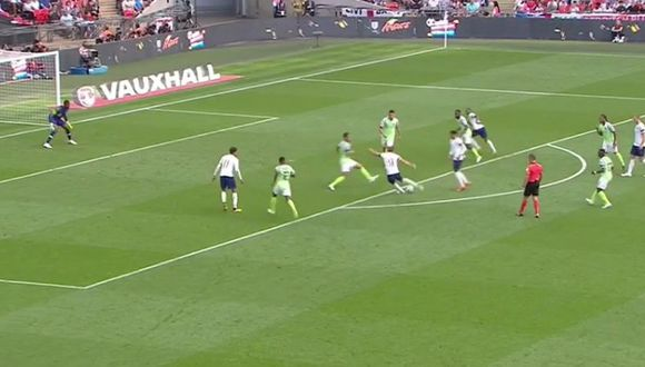 Gol 2 de Inglaterra