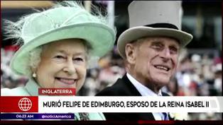 Murió el príncipe Felipe, esposo de la reina Isabel II, a los 99 años