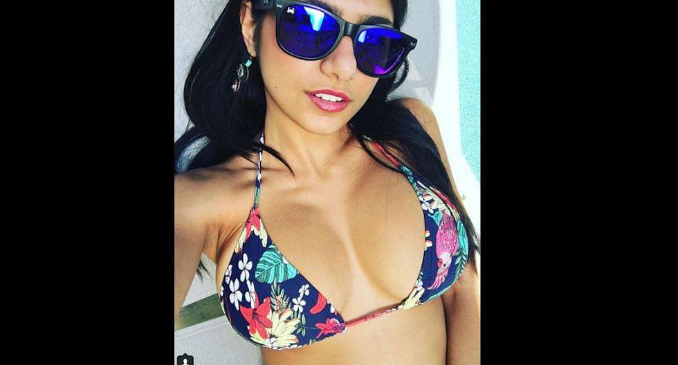 Mia Khalifa dejó anonadados a muchos en Instagram. (@notthefakemiakhalifa)
