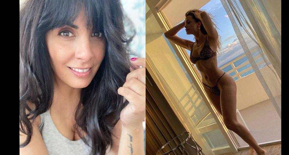 Carla García comentó sobre la foto de Milett Figueroa