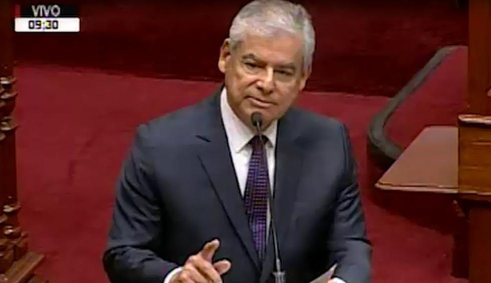 """César Villanueva: """"El Congreso aprobó por unanimidad histórica este, como dicen por ahí, 'mamarracho'"""""""