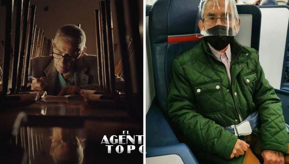 """Sergio Chamy, protagonista de """"El Agente Topo"""", señaló que no ha hecho un viaje antes en su vida. (Foto: Instagram / @sergio_chamy)."""