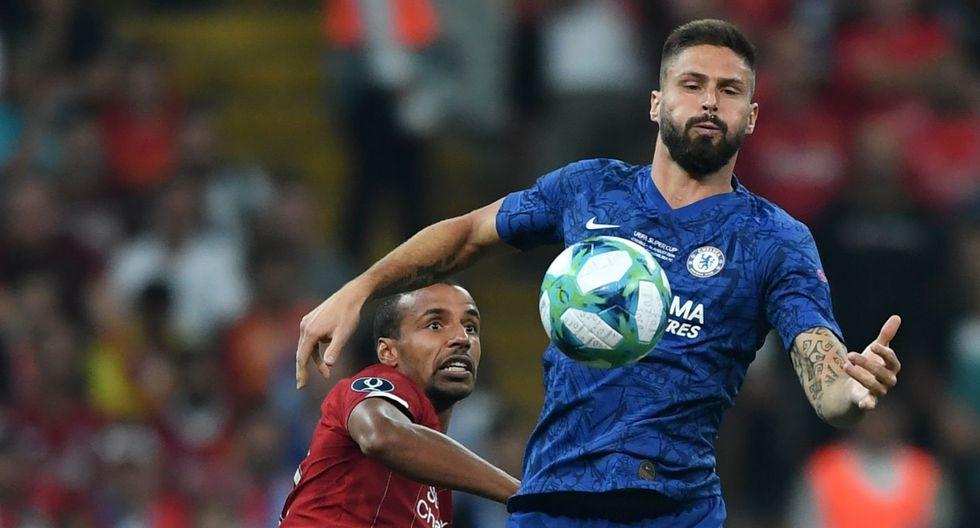 Liverpool vs Chelsea, final de la Supercopa de Europa