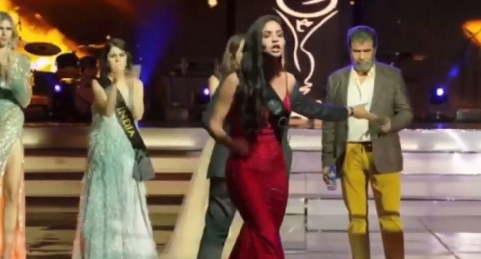 Miss Colombia no se quedó callada ante lo que consideró una injusticia. (Captura video)