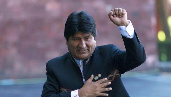 Evo Morales. (EFE)