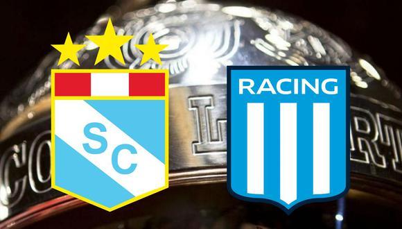 Sporting Cristal vs Racing, jornada 4 de Copa Libertadores en el Estadio Nacional.