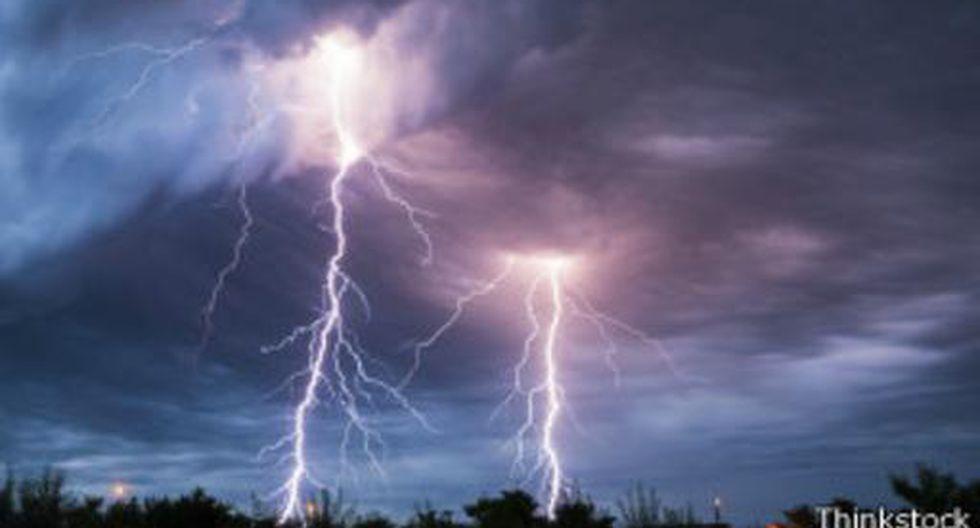 Huánuco. Lluvias caen en esta región acompañadas de truenos y rayos que anoche provocaron la muerte de una joven. (Referencial)