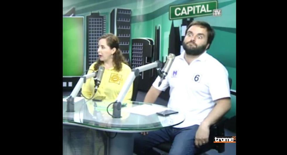 Rosa Bartra y Alberto De Belaunde (Radio Capital)