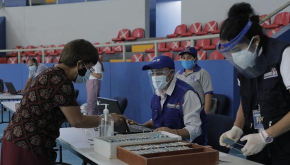 Antes de la primera vuelta electoral también se realizaron campañas itinerantes. (Foto: GEC)