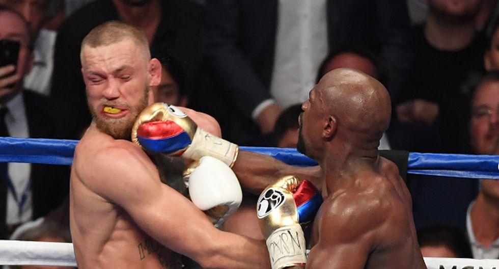 Pueden haber muchas críticas, pero Mayweather y McGregor dieron espectáculo. (Getty)