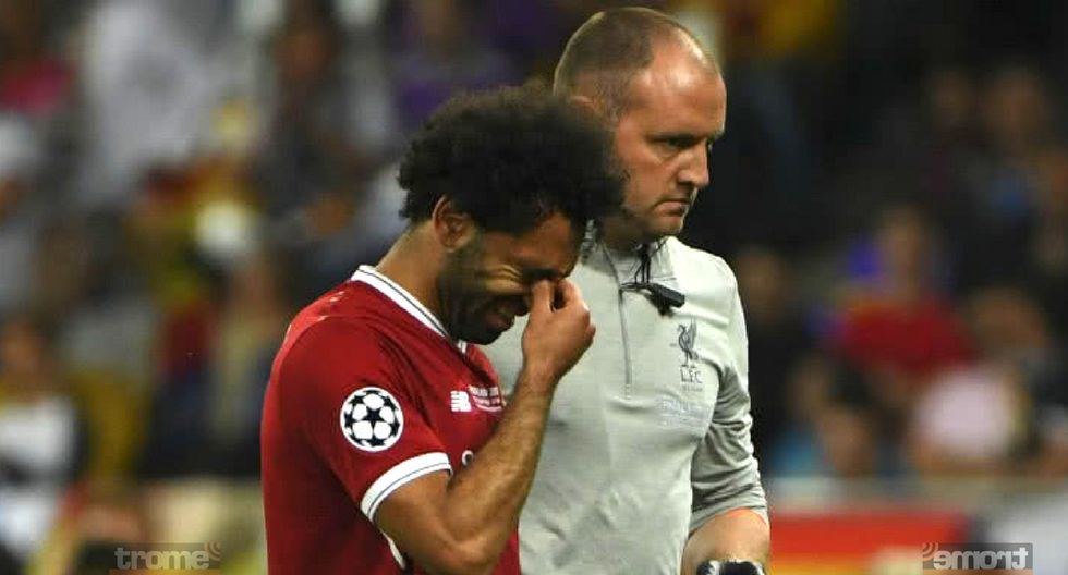 Mohamed Salah dio una  gran noticia de cara al mundial de Rusia 2018