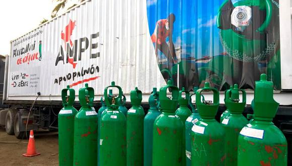 De acuerdo con la AMPE, la planta itinerante de oxígeno se instalará en el estadio Lolo Fernández y se brindará atención a 60 personas que hayan sido empadronadas por la Municipalidad de Carabayllo. (Foto: AMPE)