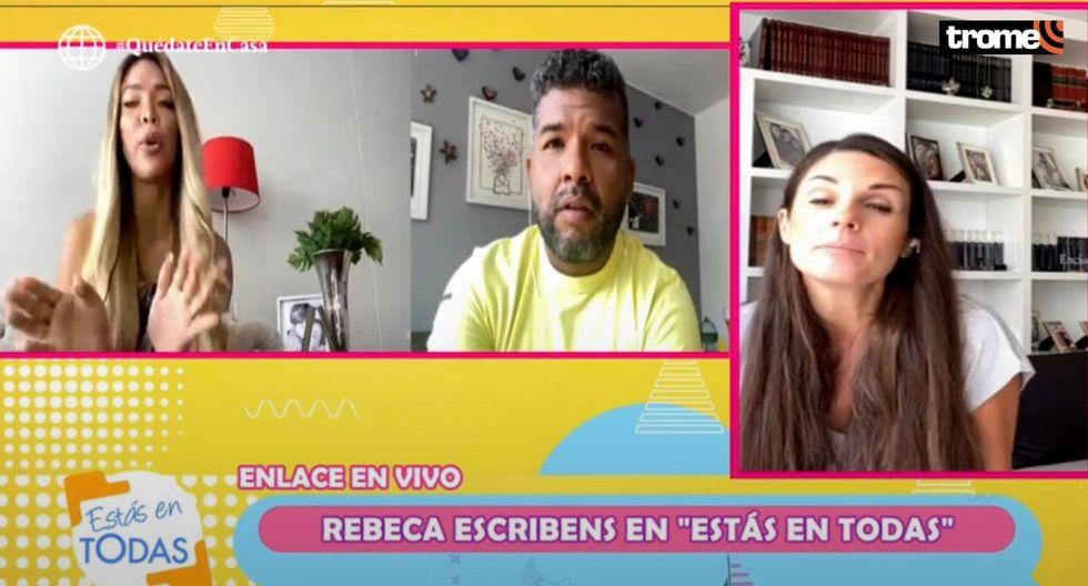 Sheyla Rojas se molesta