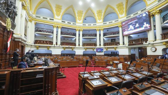 El pleno del Congreso realizó las votaciones individuales de los candidatos para el Tribunal Constitucional. (Foto: GEC)