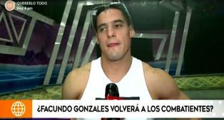 """Facundo González se muestra a favor que Pancho Rodríguez ingrese a los 'guerreros': """"Es el mejor competidor"""""""