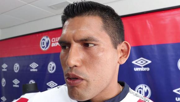 Andy Pando firmó por Deportivo Municipal a inicios del 2020.