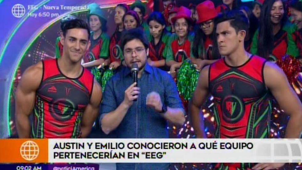 Esto es Guerra: Austin Palao y Emilio Jaime formarán parte del mismo equipo   VIDEO