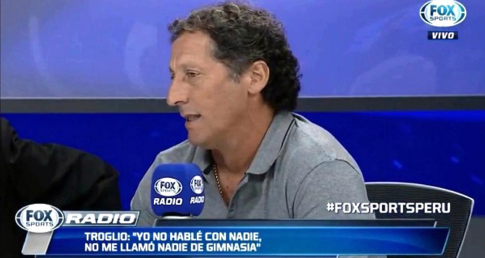 Pedro Troglio viajará a Buenos Aires después del partido con Cristal sin definir su futuro en la 'U'