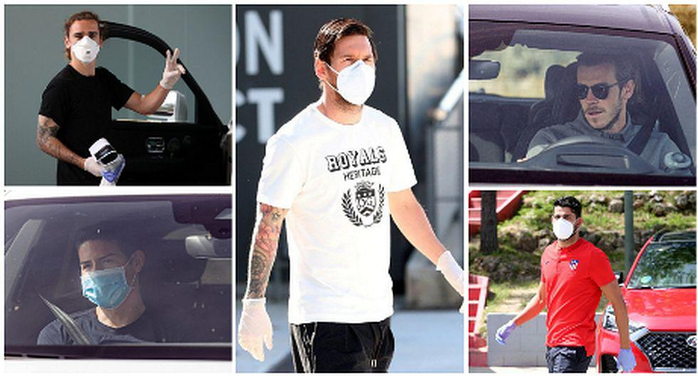 Real Madrid y Barcelona volvieron a sus sedes de entrenamientos para para pruebas del coronavirus. (Foto: AFP)