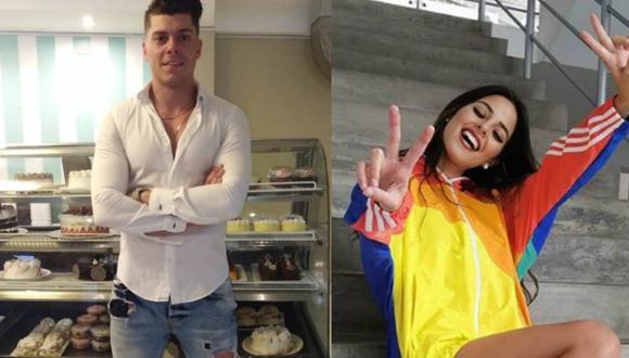 Ignacio Baladán abre su pastelería y le pide canje a Luciana Fuster