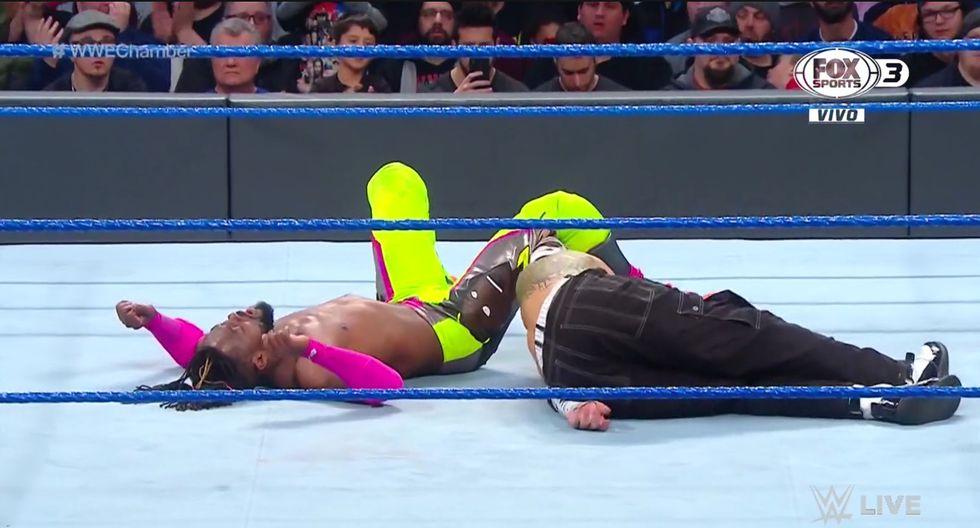 Randy Orton entrará en último lugar a la cámara de la eliminación. (Captura Fox Sports 3)